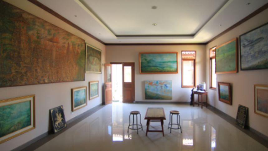 Sidik Jari Museum Lukisan Denpasar Kota