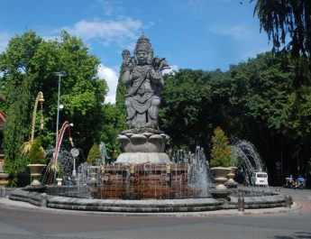Sidik Jari Museum Pesona Denpasar Catur Muka Statue Lukisan Kota