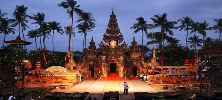 Taman Werdhi Budaya Art Centre Denpasar Bali Sejarah Jadwal Jam