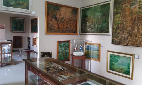Uniknya Museum Sidik Jari Denpasar Denpasarkota Id Lukisan Kota