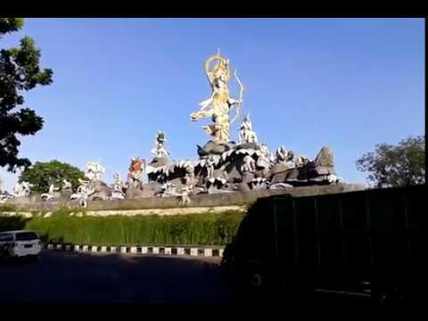 Bali Patung Titi Banda Bay Pass Denpasar Youtube Kota