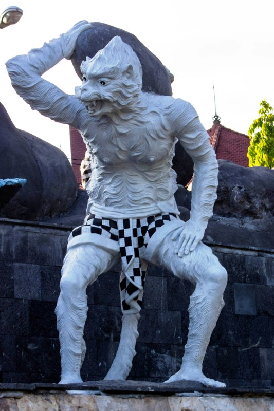 Indonesia Patung Titi Banda Wayang Epic Ramayana Planned 2015 Denpasar