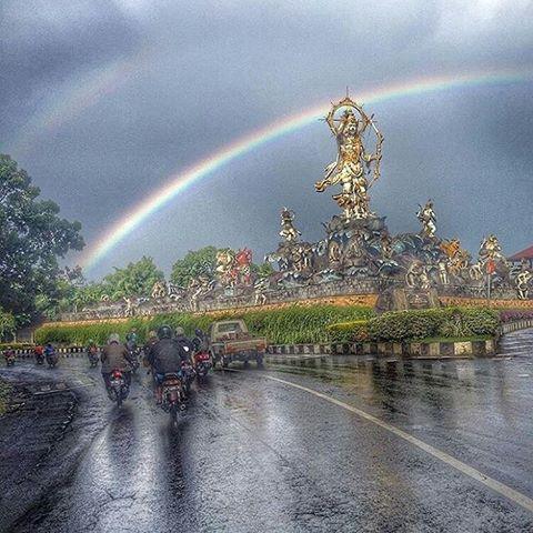 Info Badung Bali Infobadung Instagram Photos Videos Keren Foto Pelangi