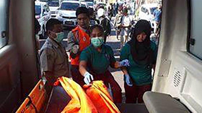 Kecelakaan Lintas Sebelah Barat Patung Titi Banda Korban Tewas Tempat