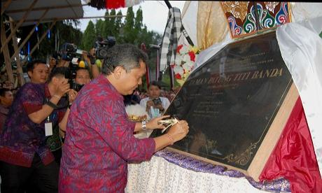 Kisah Makna Patung Titi Banda Ikut Parade Denfest Denpasarkota Kota