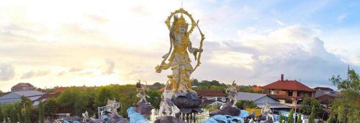 Patung Rp 5 4 Miliar Tak Kabardewata Denpasar Titi Banda