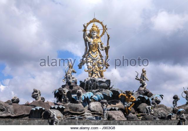 Patung Stock Photos Images Alamy Titi Banda Monument Denpasar Bali