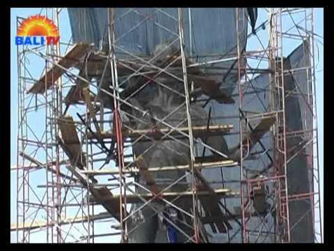 Pembangunan Patung Titi Banda Youtube Kota Denpasar