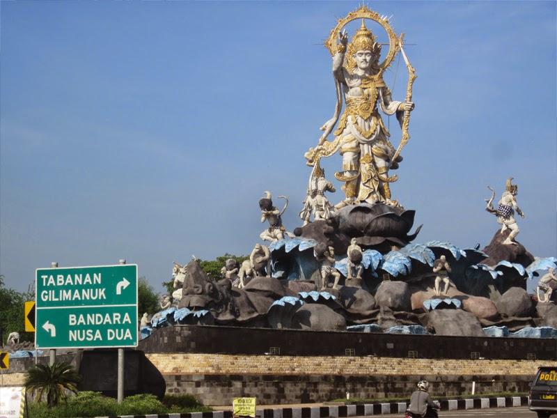 Wisata Patung Titi Banda Denpasar Tempat Kota
