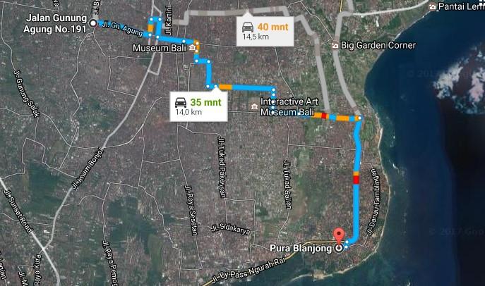 Daya Tarik Objek Wisata Pura Blanjong Sanur Denpasar Selatan Bali