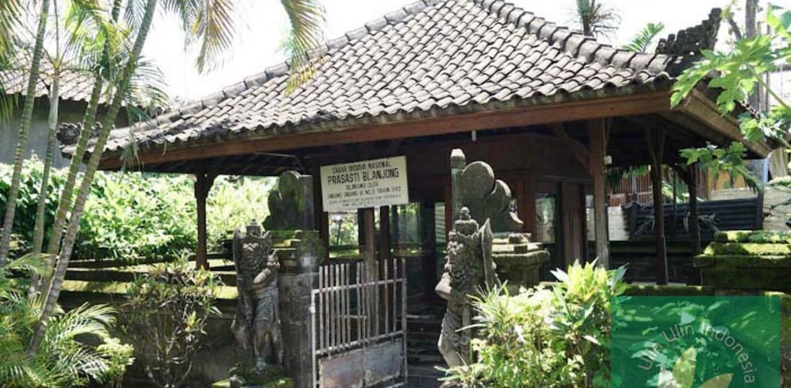 Prasasti Blanjong Sanur Peninggalan Purbakala Memuat Sejarah Maklum Lokasinya Menyempil