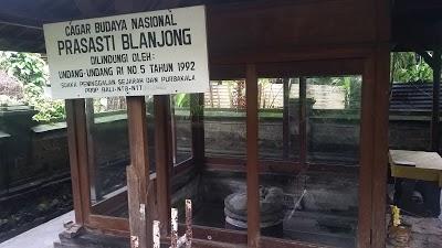 Pura Blanjong Bali Prasasti Kota Denpasar