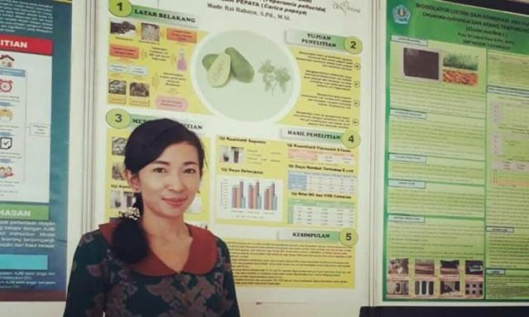 Pura Blanjong Denpasarkota Id Guru Smpn 10 Denpasar Kembangkan Biodeterjen