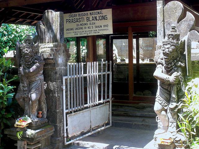 Pura Blanjong Sanur Wisata Sejarah Sela Keindahan Pantai Pulau 1
