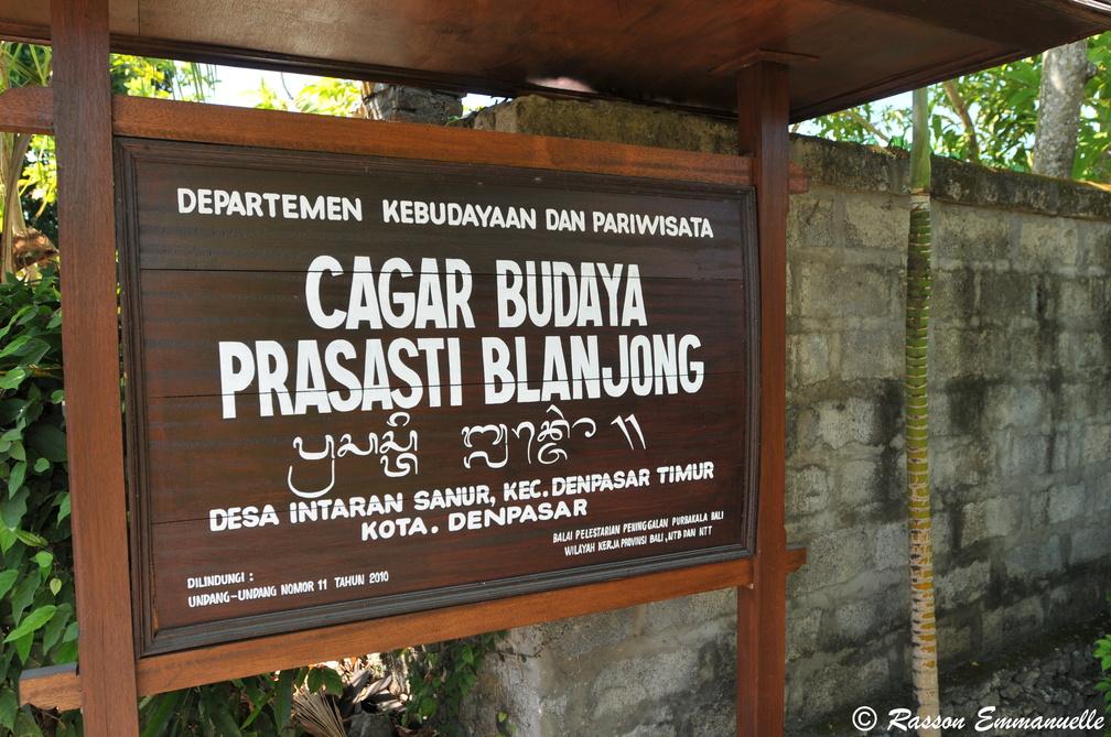 Pura Blanjong Sanur Wisata Sejarah Sela Keindahan Pantai Pulau 3