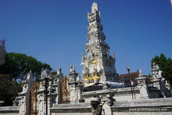 Denpasar Bali Capital Indonesian Language Blog Pura Agung Jagatnatha Important