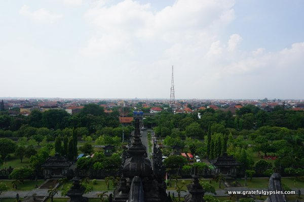Denpasar Bali Capital Indonesian Language Blog Pura Agung Jagatnatha Kota