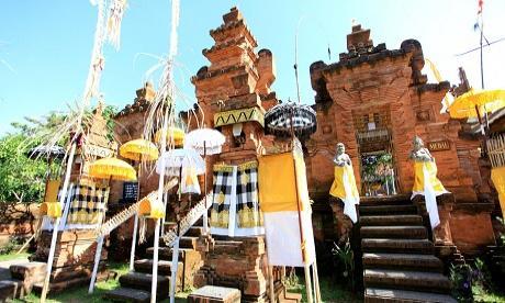 Karya Memungkah Ngenteg Linggih Pedudusan Agung Pura Lokanatha Jagatnatha Kota
