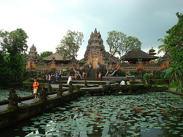 List Hindu Temples Indonesia Wikipedia Gate Balinese Temple Pura Taman