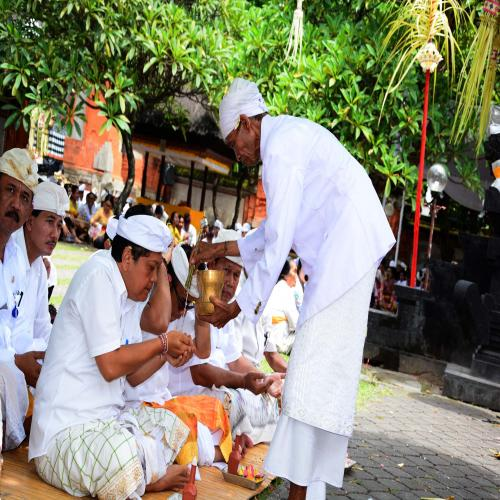 Pemkot Denpasar Melaksanakan Piodalan Pura Agung Jagatnatha Kota