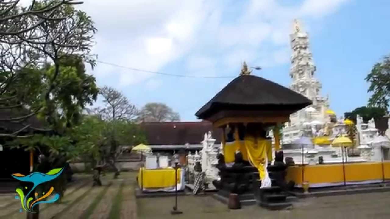 Pura Jagatnatha Kota Denpasar Bali Youtube Agung