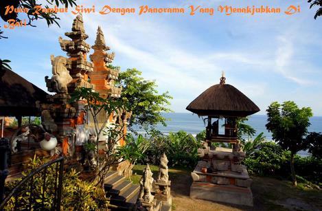 Pura Rambut Siwi Panorama Menakjubkan Bali Sekitar Terdapat Tujuh Lain