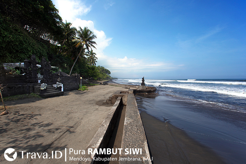 Pura Rambut Siwi Tempat Wisata Religi Bali Trava Id Pantai