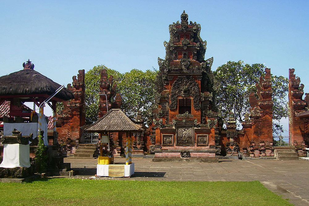 Rambut Siwi Temple Pura Kota Denpasar