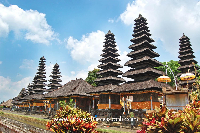 Temple Archaelogical Places Adventurous Bali Taman Ayun 2 Pura Rambut