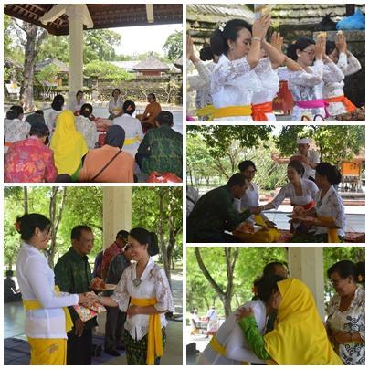 Kemenag Bali Perpisahan Pengawas Pendidikan Kota Denpasar Dirangkai Tirta Yatra