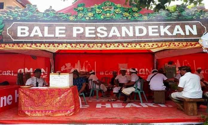 Odalan Sakenan Astra Motor Bali Sediakan Bale Pesandekan Ribuan Masyarakat