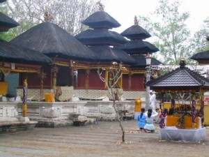 Pura Sakenan Bali Indonesia Nakarasido Hita Temple Located Island Attack