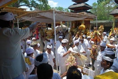 Pura Sakenan Bali Indonesia Nakarasido Hita Tribute Dibuatkanlah Pelinggih Dalem