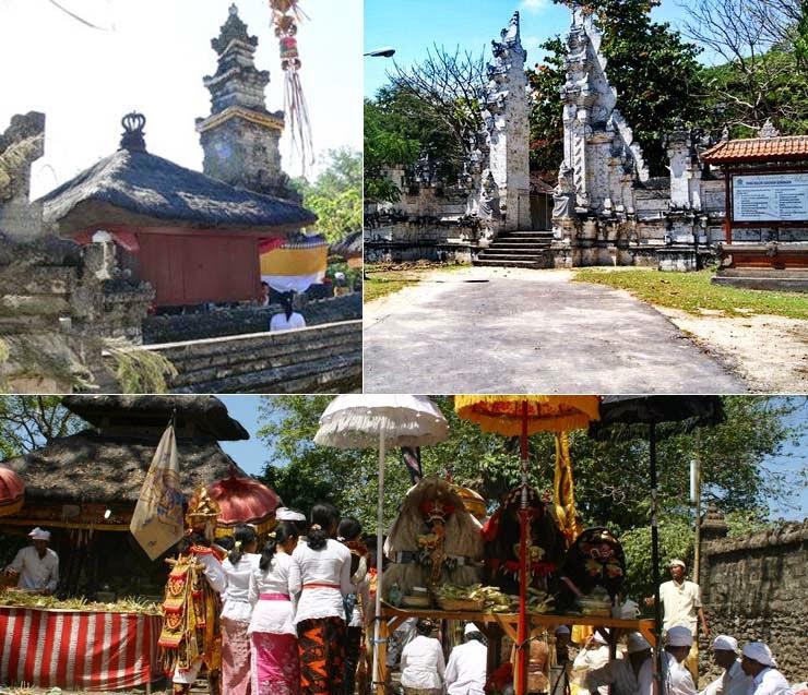 Pura Sakenan Umat Hindu Rayakan Hari Suci Kuningan Kuta Selatan