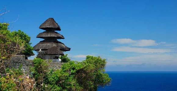 Uluwatu Temple Bali Sunset Kecak Dance Pura Sakenan Kota Denpasar