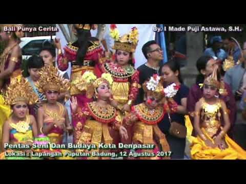 Pentas Seni Budaya Kota Denpasar 2017 Sanggar Legong Bidadari Eka