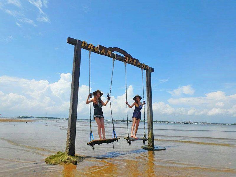 Instagramble Taman Inspirasi Pantai Mertasari Bali Spot Kota Denpasar