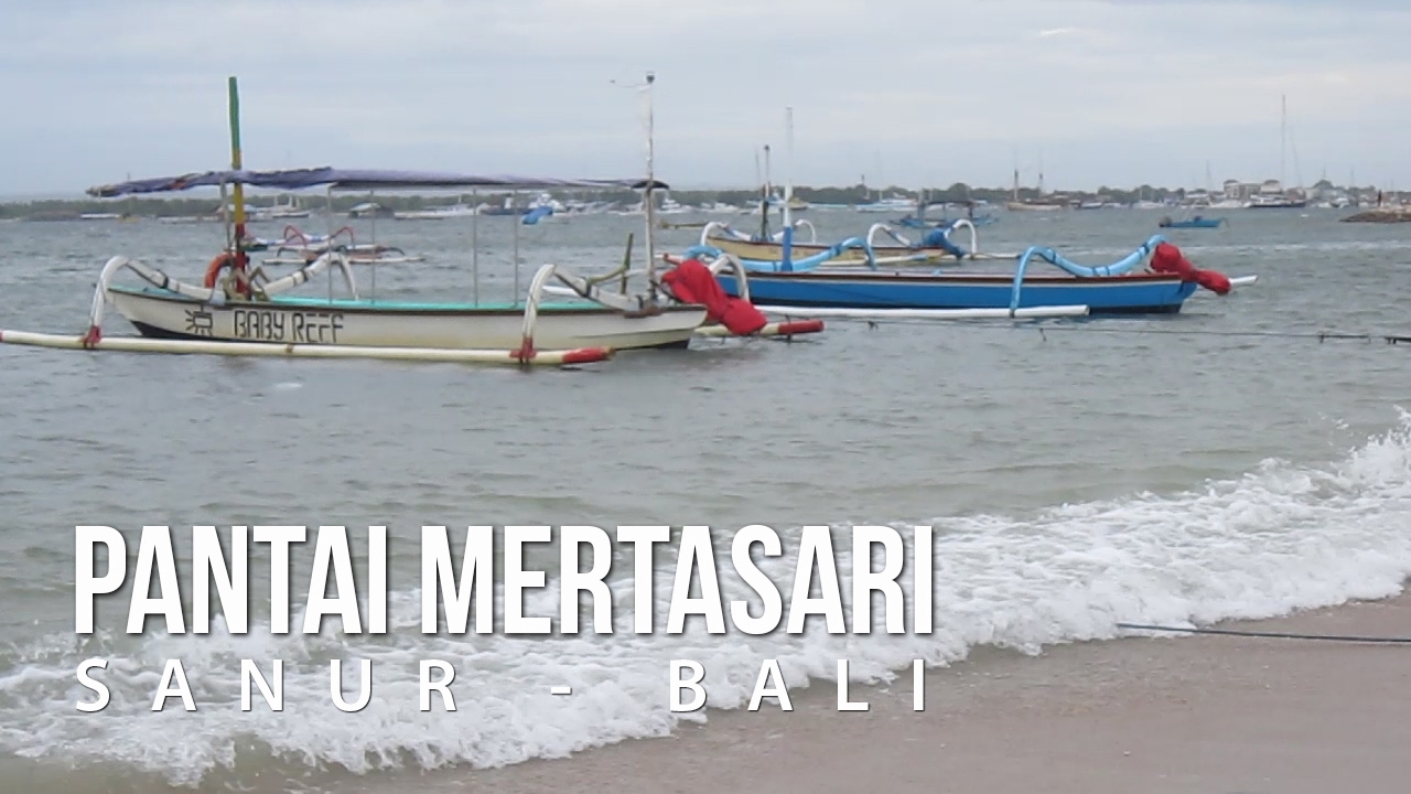 Pantai Mertasari Sanur Beach Bali Youtube Taman Inspirasi Kota Denpasar
