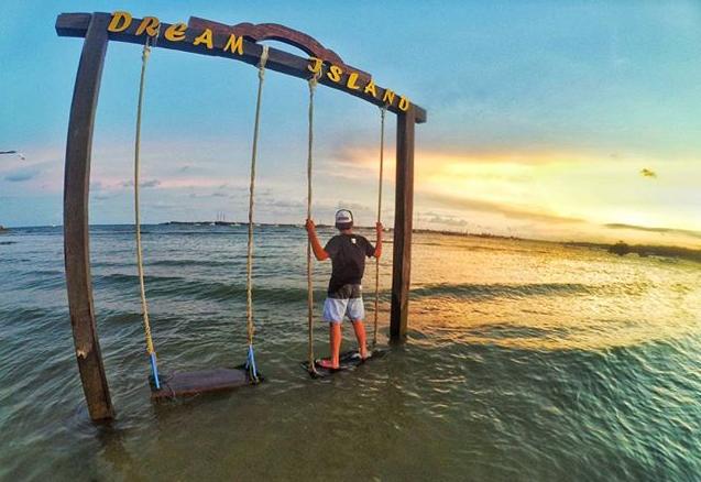 Pantai Mertasari Sanur Indahnya Melihat Sunrice Karakter Jarang Ditemui Dikujungi