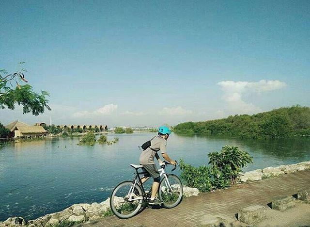 Sambut Pagi Bersepeda Pantai Mertasari Denpasarkota Id Taman Inspirasi Kota