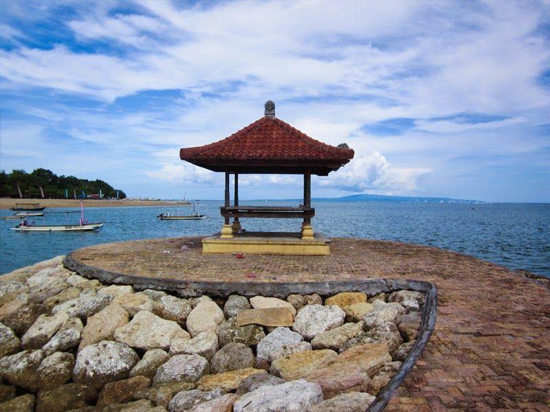 Spot Instagramble Taman Inspirasi Pantai Mertasari Bali Java Kota Denpasar