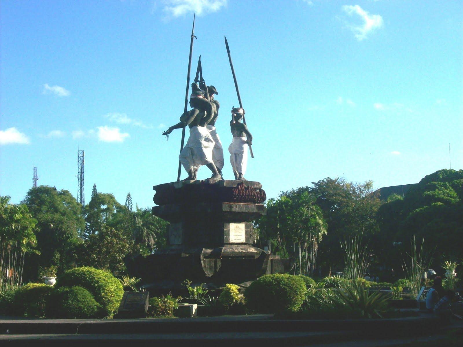 Lapangan Puputan Badung Feel Bali Taman Kota Denpasar