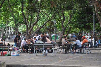Monumen Puputan Badung Denpasar Wisata Bali Taman Menjadi Tempat Rekreasi