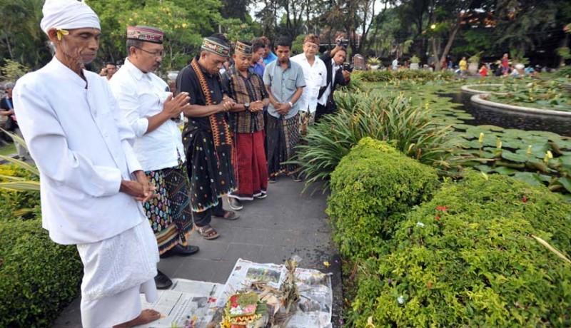 Nusabali Tiga Tewas Lapangan Puputan Www Taman Badung Kota Denpasar