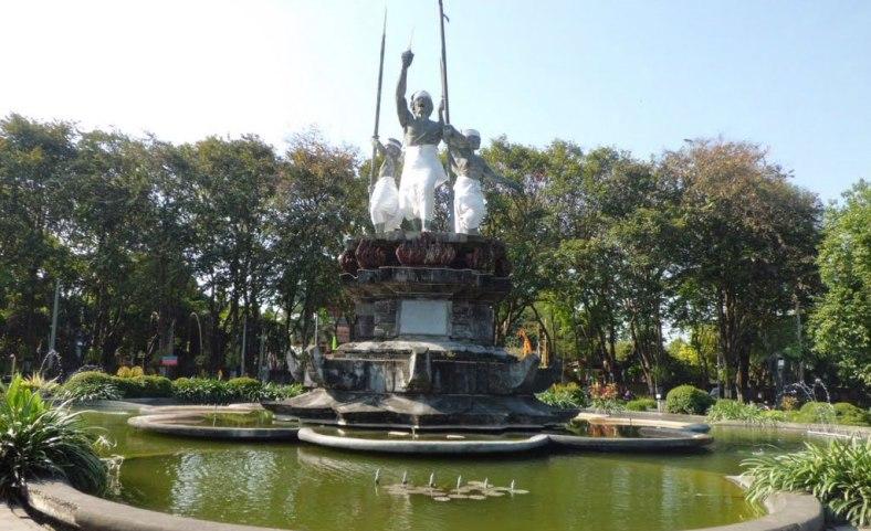 Puputan Badung Park Awesome Bali Taman Kota Denpasar
