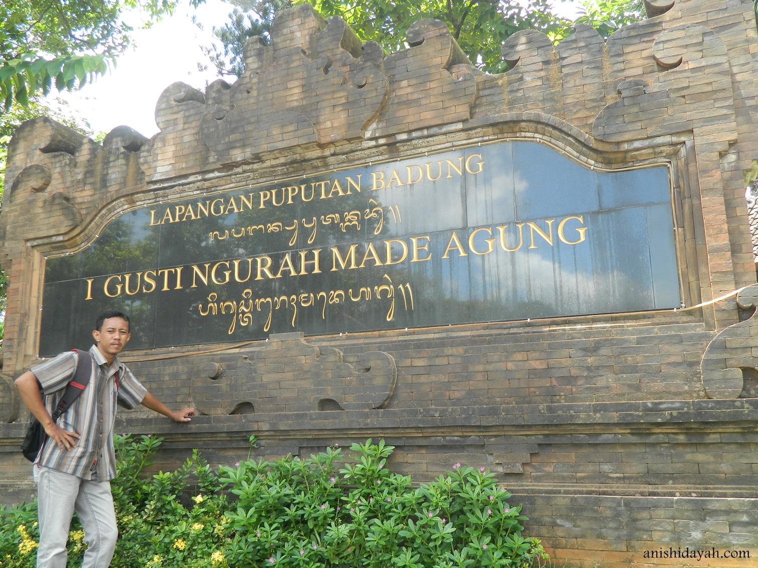 Sangpetualang Lapangan Puputan Badung Bali Tempat Asyik Buat Nongkrong Ntah