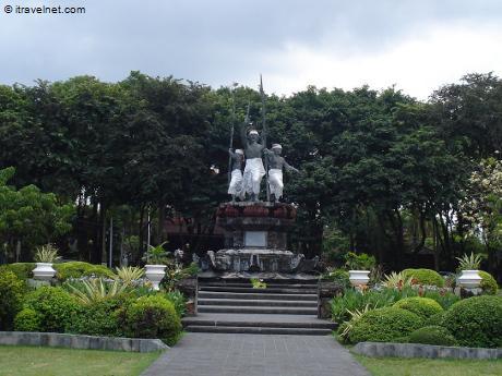 Taman Puputan Badung Square Photo Denpasar Bali Indonesia Travel Kota