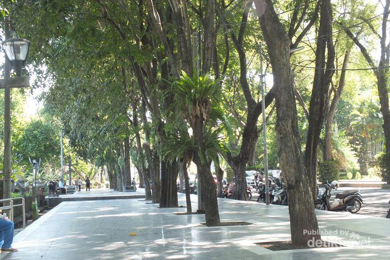 Tempat Piknik Asik Tengah Kota Denpasar Taman Puputan Badung
