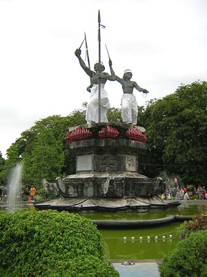 Tempat Wisata Bali Ricardoandika Puputanbadung Jpg Taman Puputan Badung Kota