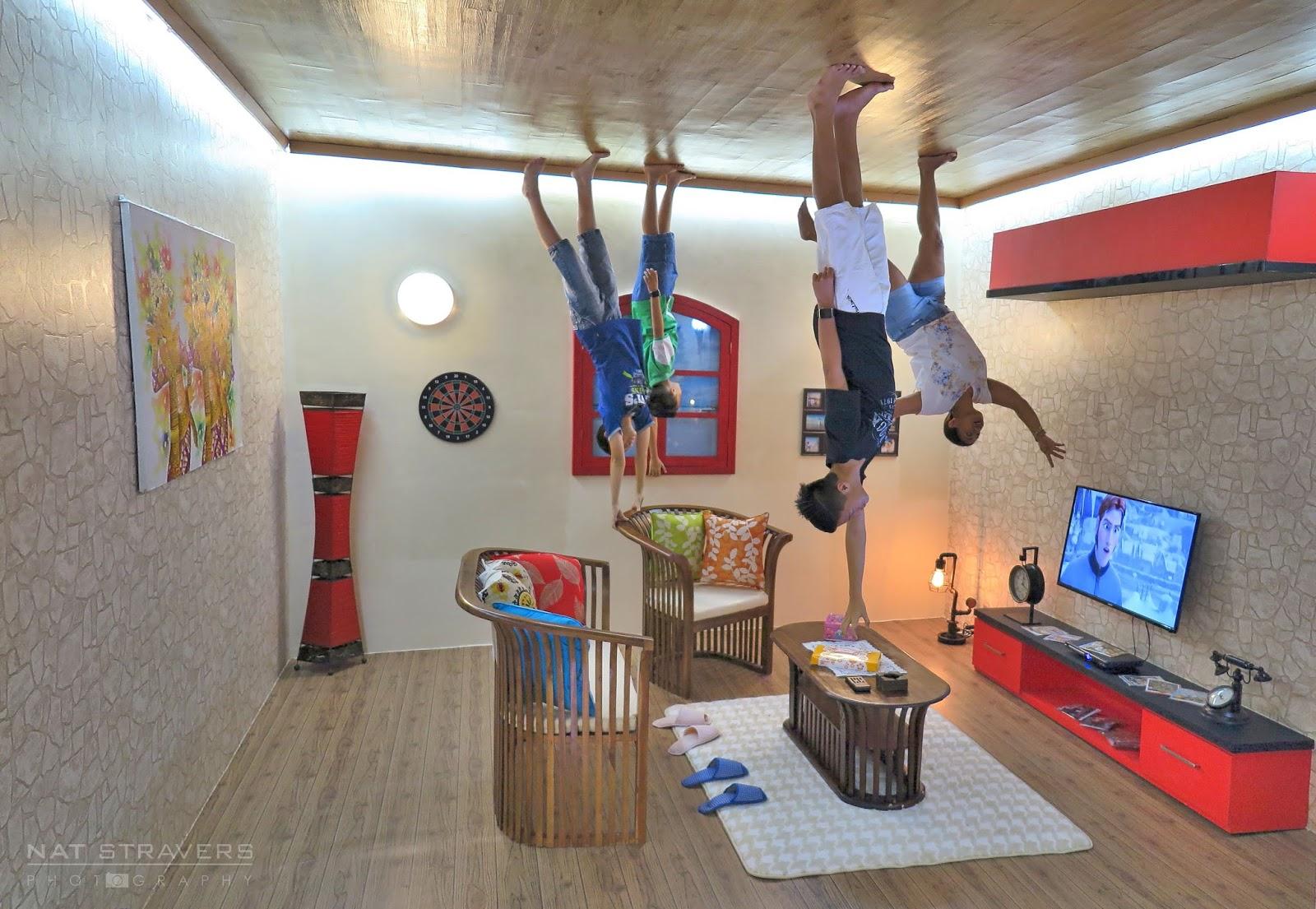 Fun Trick Eye House Bali Upside World Indo Trip 62